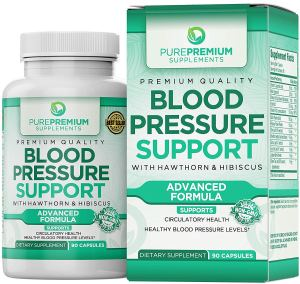 PurePremium Blood Pressure Support Supplement