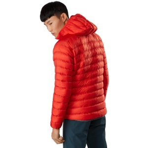 Arc'teryx Cerium LT Hooded Down Jacket (in red)