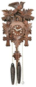 River City Clocks One Day Hand-Carved Cuckoo Clock
