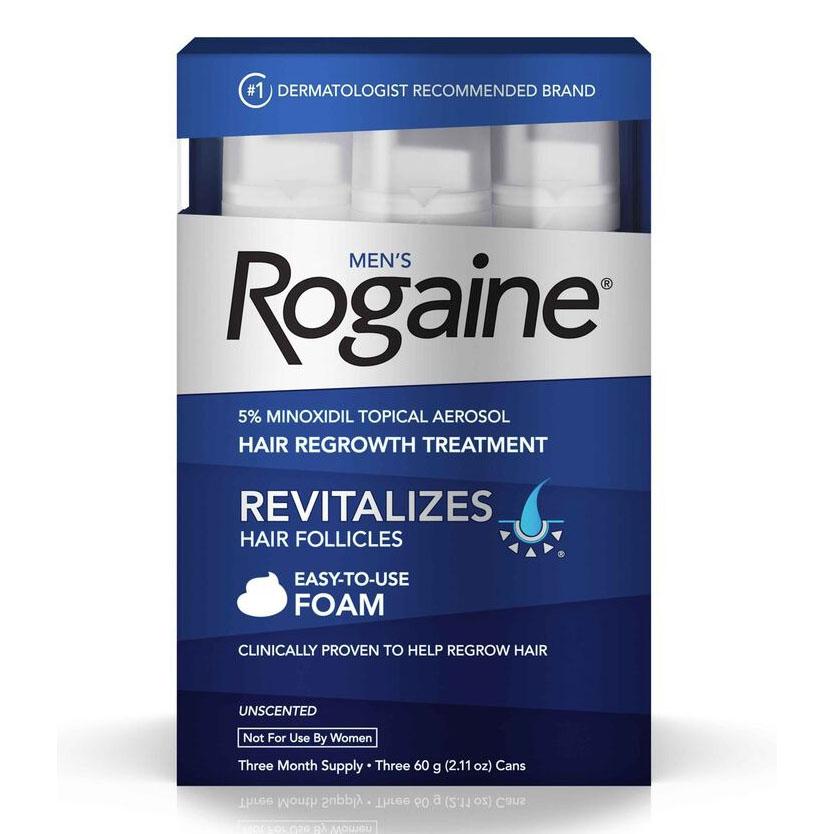 best hair loss treatments- Rogaine