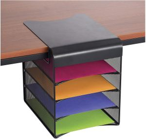 best desk shelves safco under