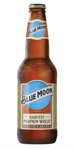 Blue Moon Beer Pumpkin