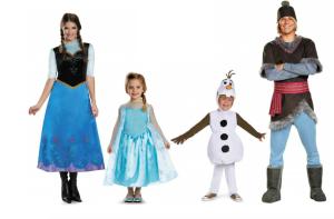 family halloween costumes frozen