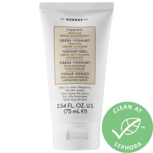 face wash for sensitive skin korres