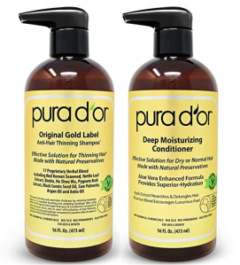 Pura D'Or Shampoo and Conditioner