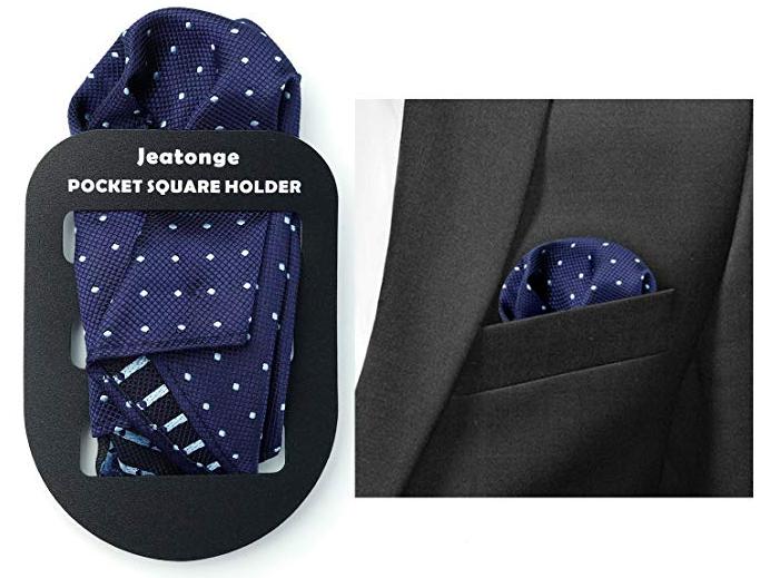 pocket square holder