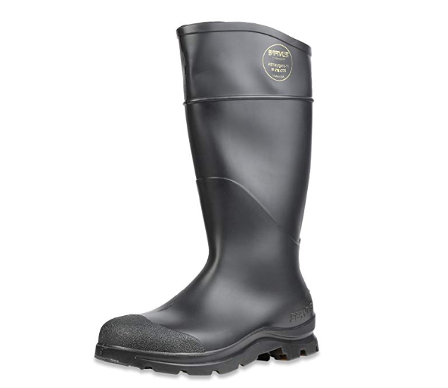 Servus Comfort Technology PVC Steel Toe Boot - best rain boots for men