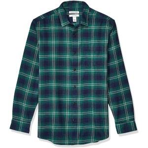 Amazon Essentials Long Sleeve Plaid Flannel Shirt