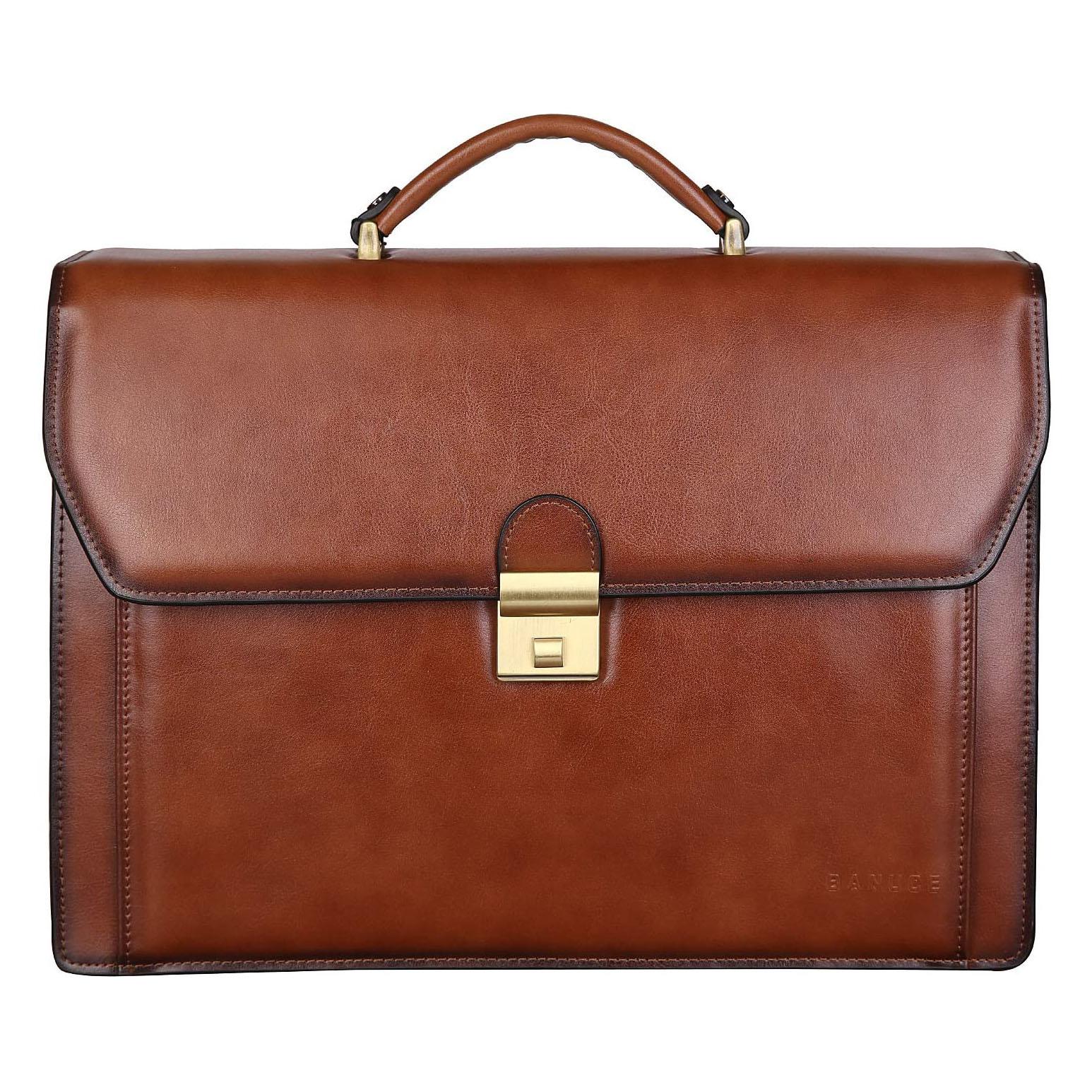 Banuce Vintage Leather Briefcase