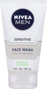 face wash for sensitive skin nivea