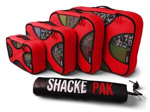 Shacke pack packing cubes