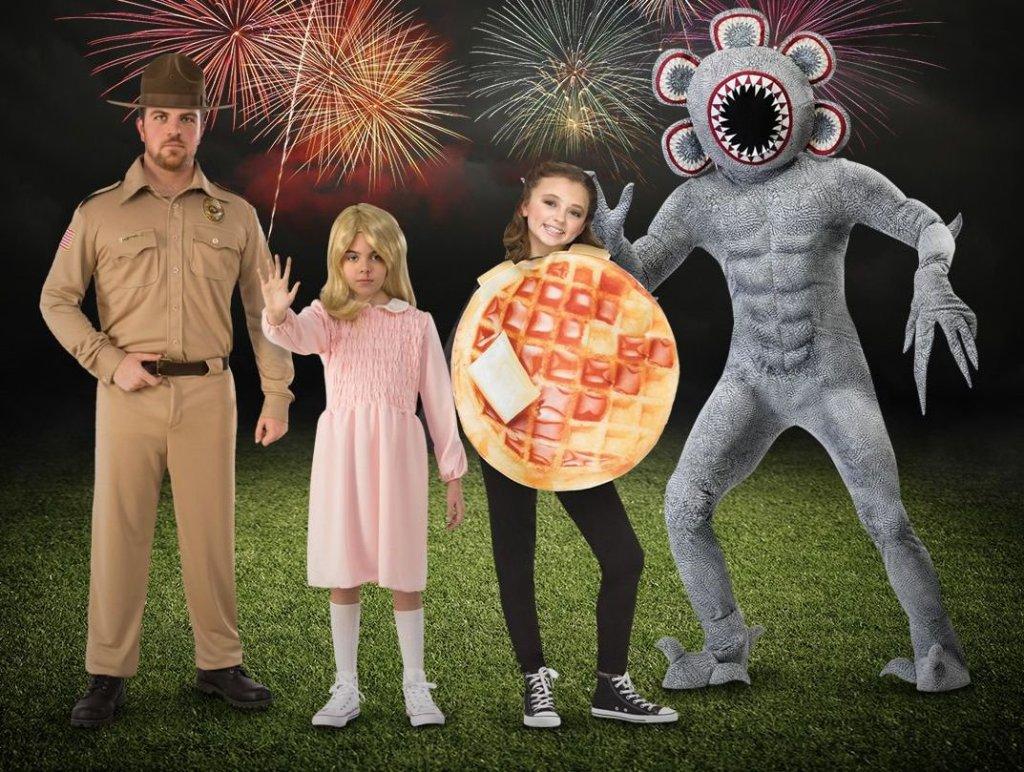 family halloween costumes- Stranger Things Group Costume