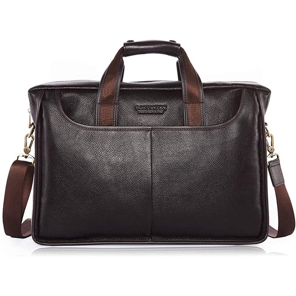 BOSTANTEN Leather Briefcase