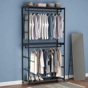 Tribesigns Double Rod Closet Organizer, best closet organizer