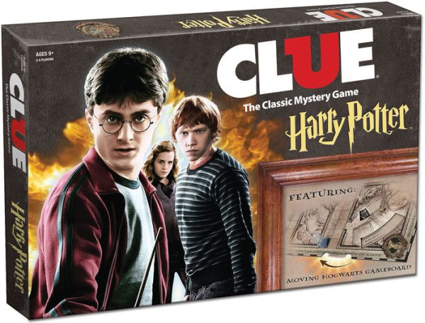 harry potter gifts clue board game