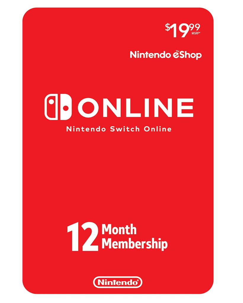 best nintendo switch accessories gift card