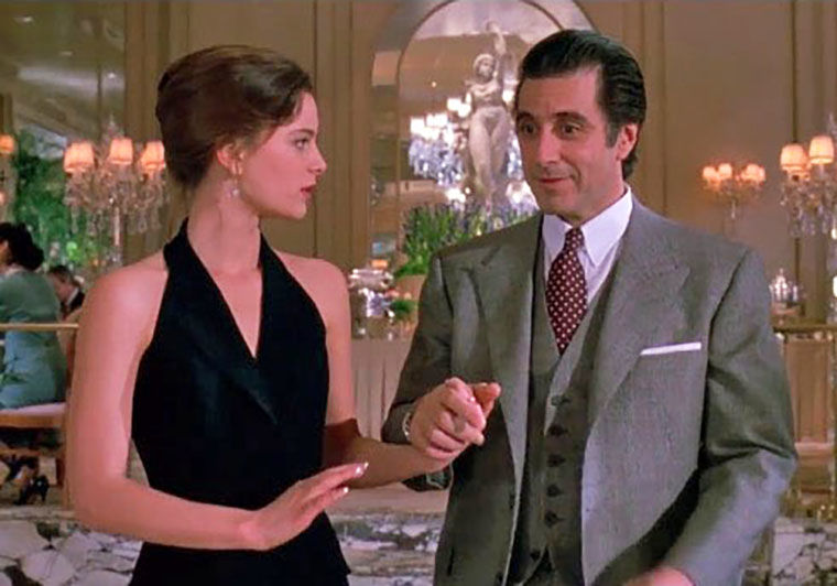 Thanksgiving movie Scent of a Woman