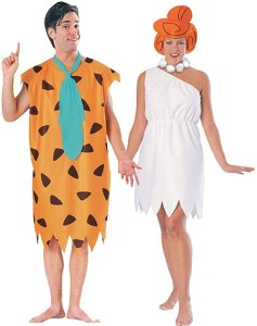 Fred and Wilma Flinstone couples costume, best couples costumes, couples costumes 2020
