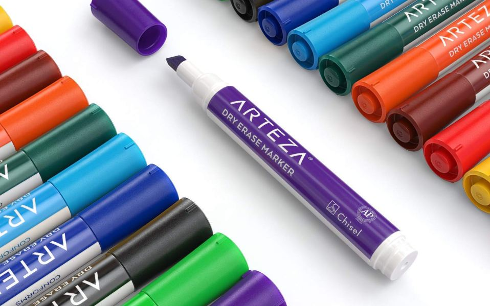 best colorful dry erase markers