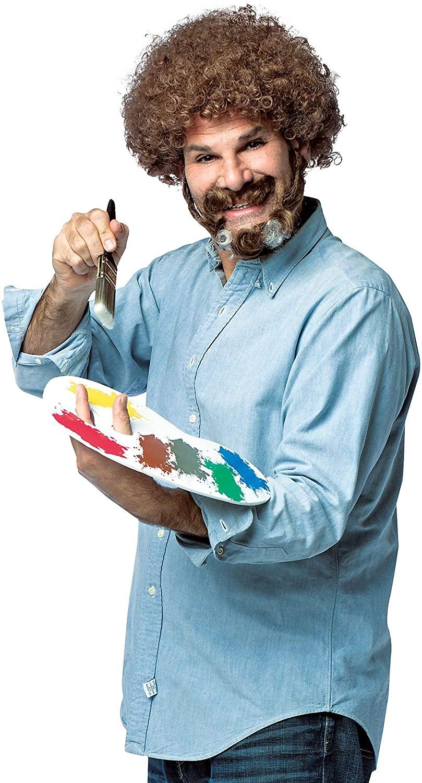 Bob Ross Painter Costume