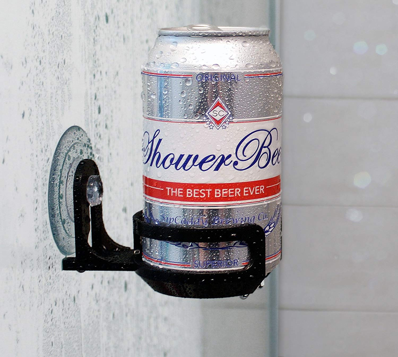 beer shower holder