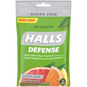 vitamin c drop halls defense