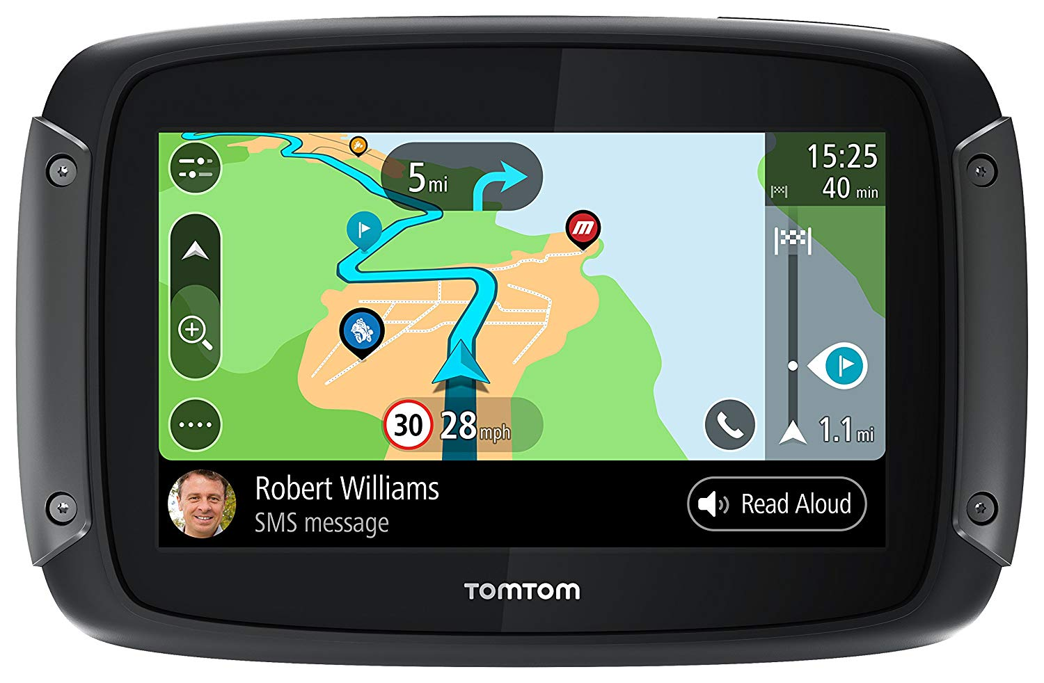 tomtom motorcycle gps