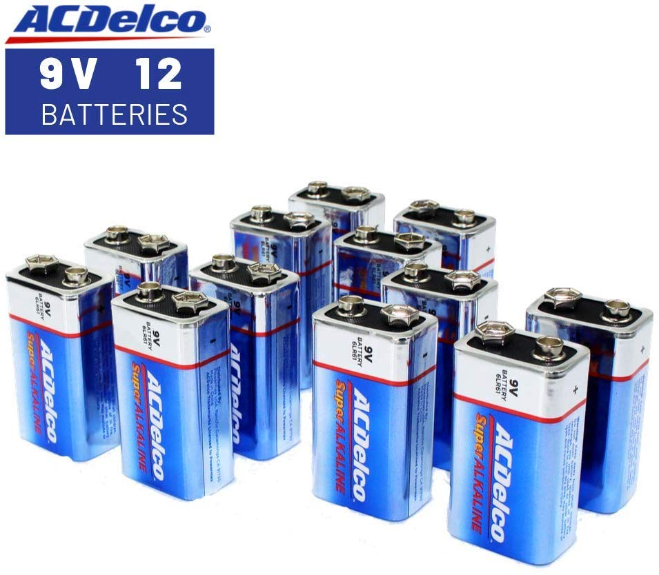 9v battery acdelco