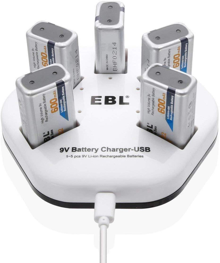 9V battery ebl