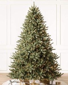 led christmas tree balsam hill