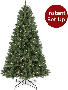 led christmas tree best choice products