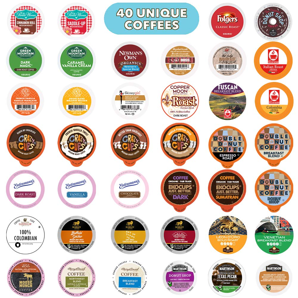Coffee Pods Variety Pack Sampler