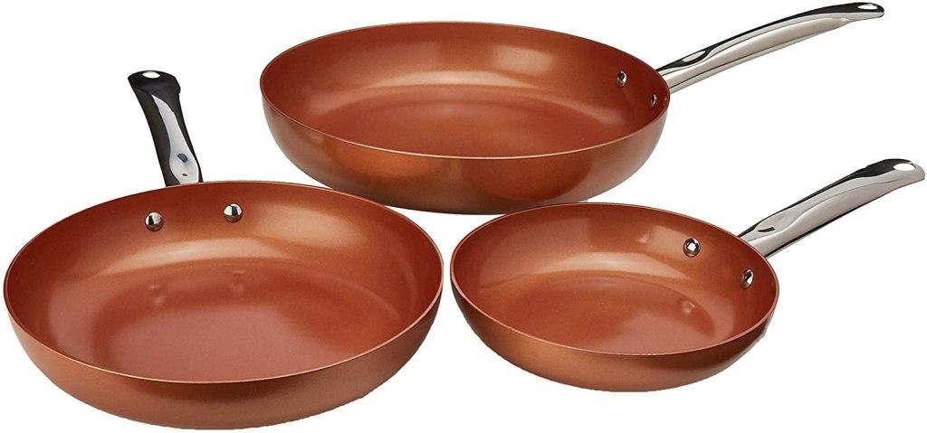copper cookware copper chef set