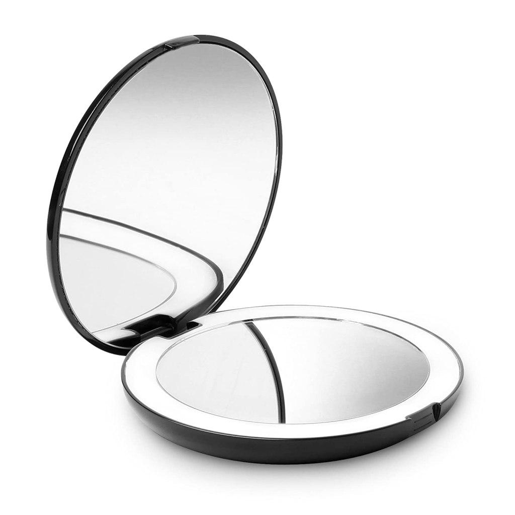Fancii LED Lighted Travel Mirror