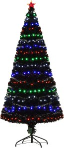 led christmas tree homcom