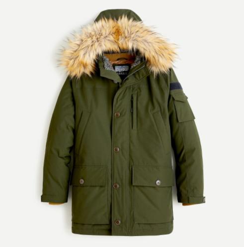 J. Crew Nordic Parka Winter Coat