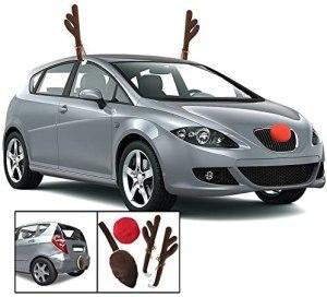 christmas car decorations - KOVOT Reindeer Car Set Antlers