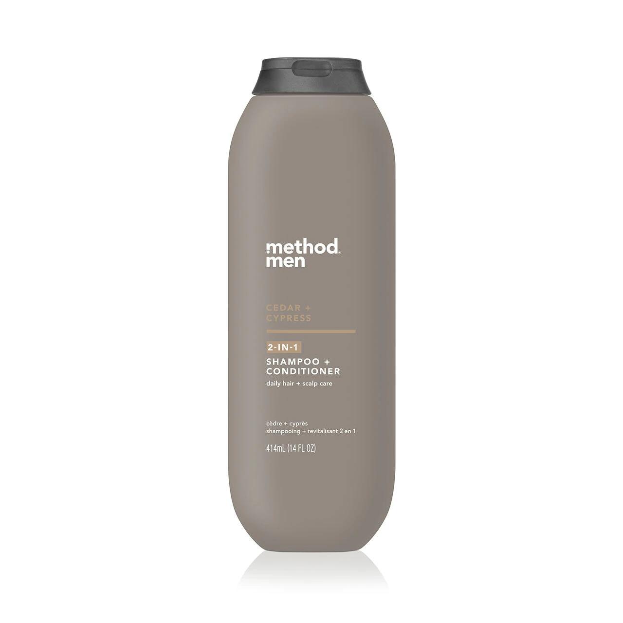 Method Men Cedar + Cypress 2-in-1 shampoo and conditioner for men