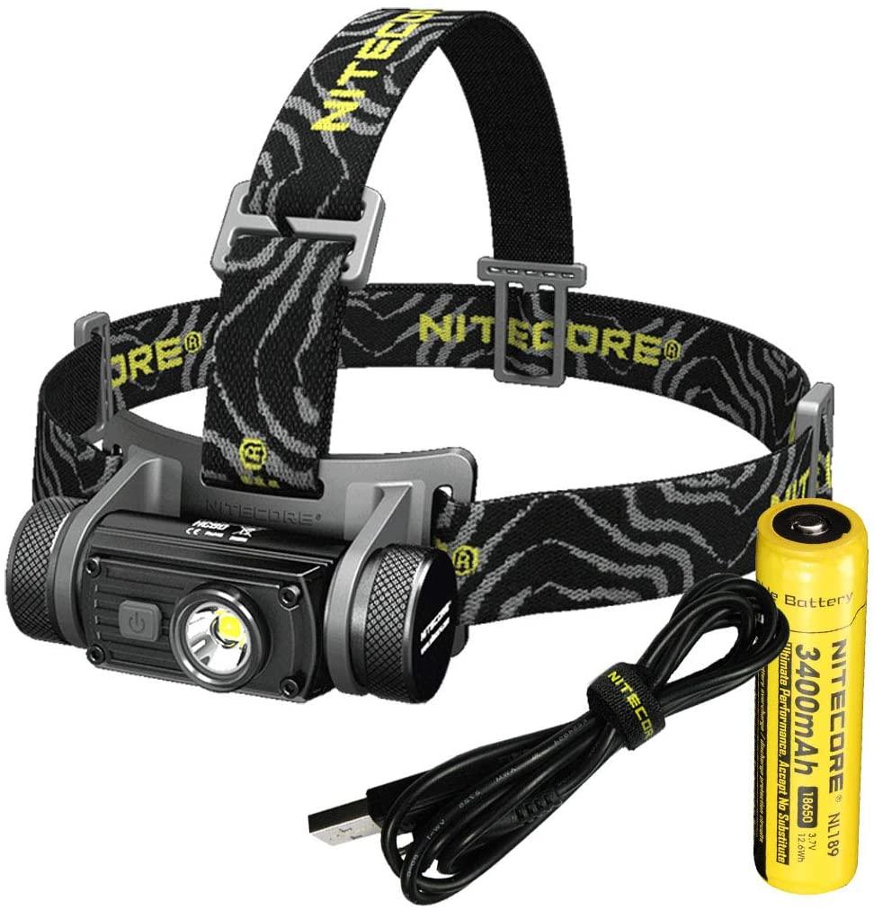 Nitecore HC60 Rechargeable LED Headlamp