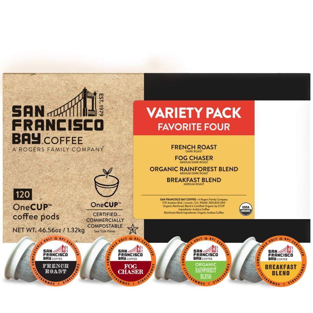 SF Bay Coffee OneCUP Variety Pack