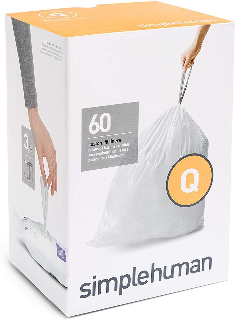 simplehuman Code Q Custom Fit Drawstring Trash Bags