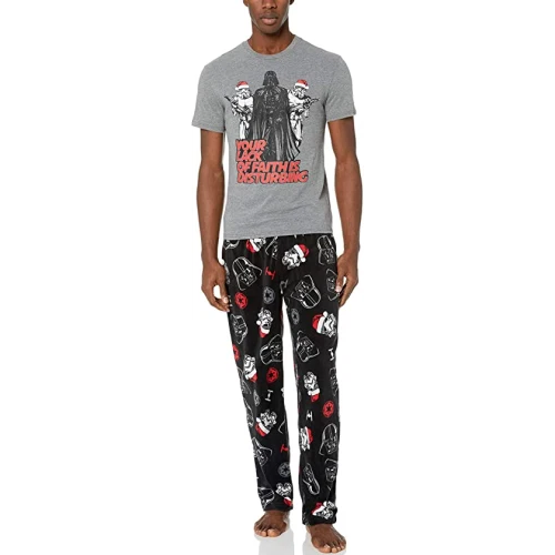 men's christmas pajamas star wars