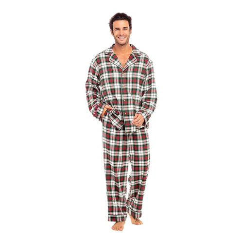men's christmas pajamas alexander del rossa