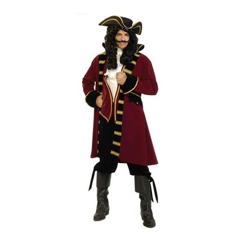 man wearing a pirate costume