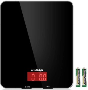 accuweight scale, best kitchen scale