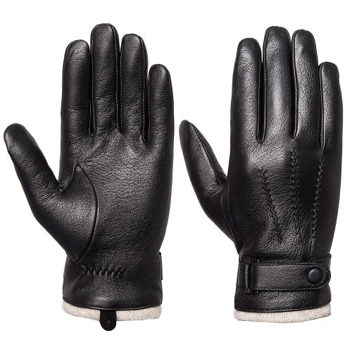Acdyion Leather Touch Screen Gloves