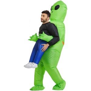 Inflatable Alien Rider Costume