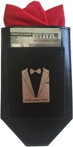 B King Enterprises Perfect Pocket Square Holder