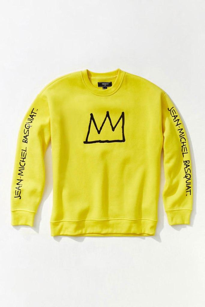 Men's Basquiat Graphic Sweatshirt