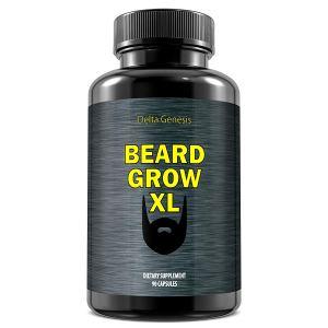 beard grow xl beard growth supplement